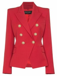 Balmain double-breasted blazer - Red