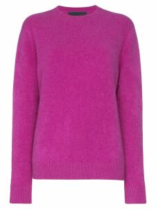 The Elder Statesman Simple cashmere sweater - PINK