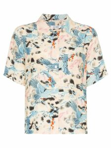 Re/Done Hawaiian printed shirt - MULTICOLOURED