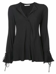 Derek Lam 10 Crosby bell sleeves V-neck blouse - Black