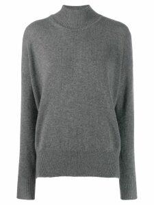 Jil Sander cashmere turtleneck sweater - Grey