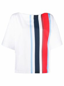 Marni striped printed T-shirt - White