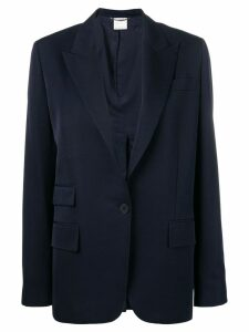Stella McCartney single breasted blazer - Blue