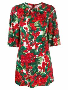 Dolce & Gabbana floral print top - Red