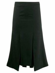 Alexander McQueen flared midi skirt - Black