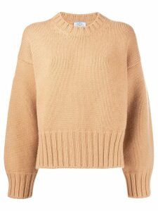 Prada slouchy cashmere jumper - Brown
