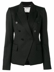 Stella McCartney logo jacquard blazer - Black