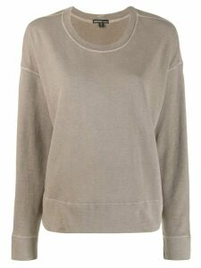 James Perse round neck sweater - Brown