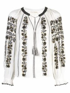 Ulla Johnson embroidered blouse - White