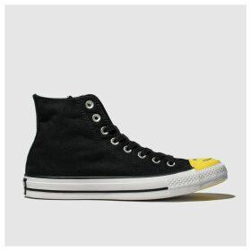 Converse Black & White All Star Carnival Hi Trainers