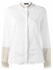 Fabiana Filippi glitter detail shirt - White