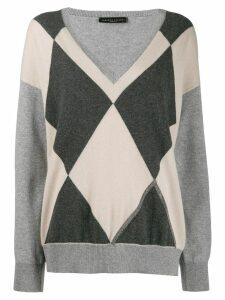 Fabiana Filippi Argyll jumper - Grey