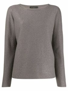 Fabiana Filippi metallized jumper - Grey