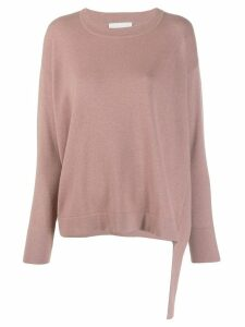 Fabiana Filippi loose-fit jumper - Pink