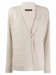 Fabiana Filippi sequin-embellished cardigan - Neutrals