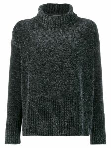 Fabiana Filippi roll-neck flared sweater - Green