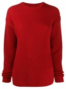 Rick Owens ribbed knit jumper - Black