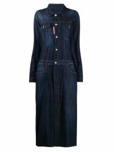 Dsquared2 maxi denim dress - Blue