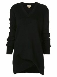 Michael Kors Collection asymmetric sweater - Black