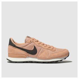 Nike Pink Internationalist Trainers