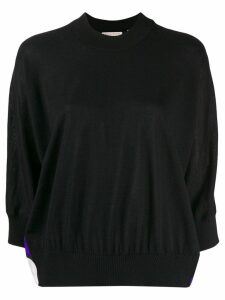 Emilio Pucci Vallauris Print Wool Jumper - Black