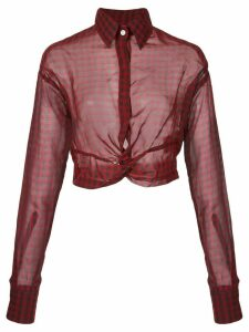 Haculla plaid blouse - Red