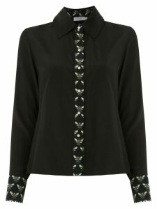 Isolda silk Lolô shirt - Black
