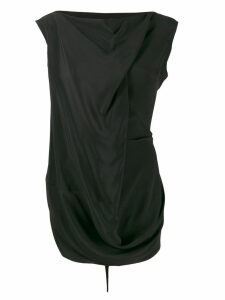 Rick Owens draped blouse - Black