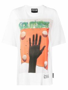 Versace Jeans Couture printed T-shirt - White