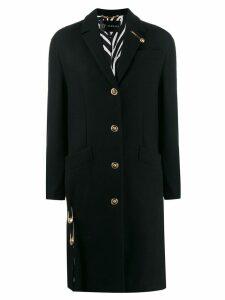 Versace tailored coat - Black