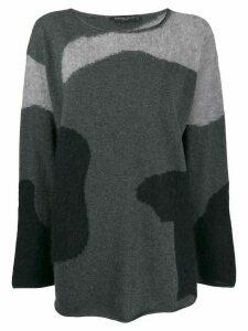 Fabiana Filippi oversized fit sweater - Black
