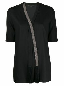 Fabiana Filippi embellished blouse - Black