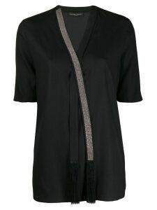 Fabiana Filippi embellished blouse - Black