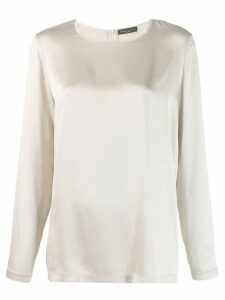 Fabiana Filippi silk blouse - NEUTRALS