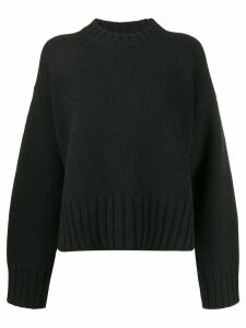 Prada oversized cashmere jumper - Black