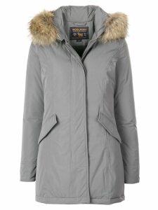 Woolrich padded hooded coat - Grey