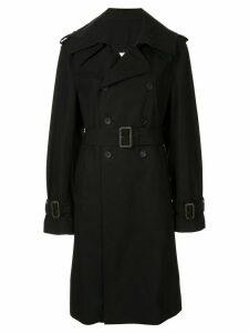 Maison Mihara Yasuhiro double breasted trench coat - Black