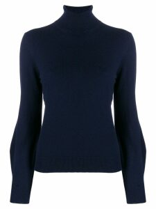 Chloé roll neck sweatshirt - Blue