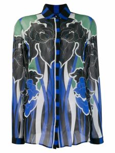 Just Cavalli floral print shirt - Blue
