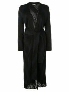 Oscar de la Renta wrap tie dress - Black