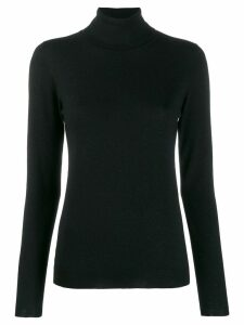 Brunello Cucinelli fitted roll-neck sweater - Black