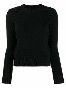 Isabel Marant Étoile fitted crew neck jumper - Black