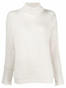 Liska ribbed jumper - White