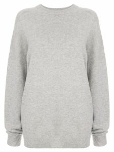 Bassike oversized knit jumper - Grey