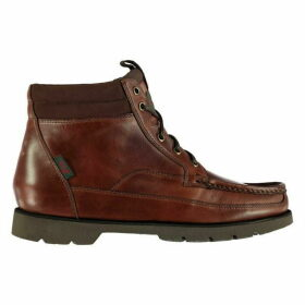 Bass Weejuns Stockton Moc Leather Boots Mens