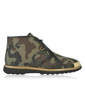 GIUSEPPE ZANOTTI Camouflage Chukka Boots