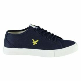 Lyle and Scott Teviot Twill Canvas Shoes