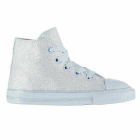 Converse Shiny Hi Top Trainers