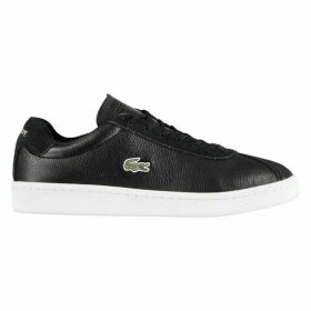 Lacoste Masters Leather Mens Trainers