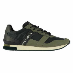 Tommy Hilfiger Material Mix Runner Trainers